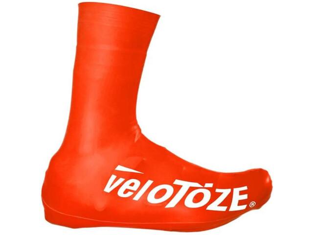veloToze Road 2.0 Osłony na buty Long, czerwony